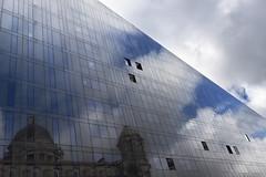 Head in the clouds, window on the world. Liverpool (Ianmoran1970) Tags: world windows sky cloud reflection window clouds liverpool head ianmoran ianmoran1970
