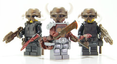 3 Amigos (Silenced_pp7) Tags: sky 3 amigos brick amigo star three rust long arms lego space rifle halo pirate beast warriors wars blade minifig bloody custom rim blaster proto havoc protos kukri jfsc minifgure brickarms skyrim mercenarys brickwarriors