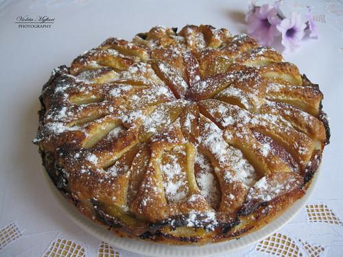 Albanian Peach Pjeshke Embelsire Me Cake