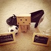 11/52: Happy Birthday Michelle (aebphoto) Tags: highheels soccer happybirthday frommyphone wineglasses iphone 1152 week11 danbo project52 danboard week1152 revoltechdanbo instagram iphone4s worldofdanbo danbo52
