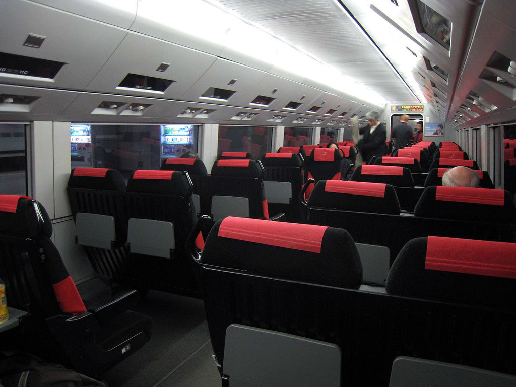 De l 39 avion au train dozodomo for Interieur avion