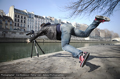 Ohhhh Shit ! / EXPLORED #6 / (Beboy_photographies) Tags: paris france seine cascade quai chute tombe cascadeur photographe tomber photographies beboy