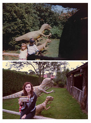 1996 - 2011 (Yas Murr) Tags: selfportrait 1996 recreation 2011 dinosaurparknorfolk