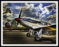 "P-51 Aircraft the ""Betty Jane"" (HMJelks Photography) Tags: la shreveport p51 collingsfoundation bettyjane aircrft"