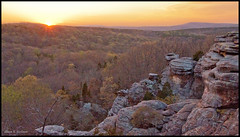 Spring Sunset (sbuck1205) Tags: sunset spring rocks gardenofthegods shawneenationalforest