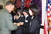 Gakushuin Students Present 1,000 Origami Cranes To U.s. Forces In Japan