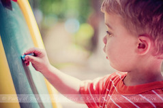 Learning to spell (Party of Five 2014) Tags: boy 3 cute childhood closeup youth writing outside chalk child sweet letters profile young spell blond learning getty spelling preschool teaching write prek chalkboard 3yearsold gettyimages 2012 stripedshirt bluechalk ©partyof5ive