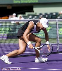 Monica Niculescu (tlaenPix) Tags: tennis semifinals monicaniculescu sonyericssonopen2012 womensdubles
