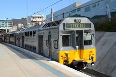 C8 at Kirrawee (vicrailways) Tags: electric train chopper sydney society cityrail c8 kirrawee