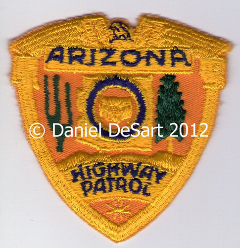 Arizona Department of Public Safety (Hat Badge Patch)