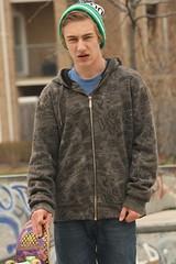 (JillPauline) Tags: boy cool intense skateboard