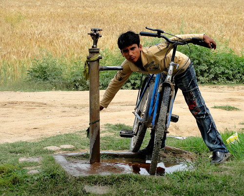 Roadside Hand Pump in the Outskirts of S by Zillay Ali, on Flickr