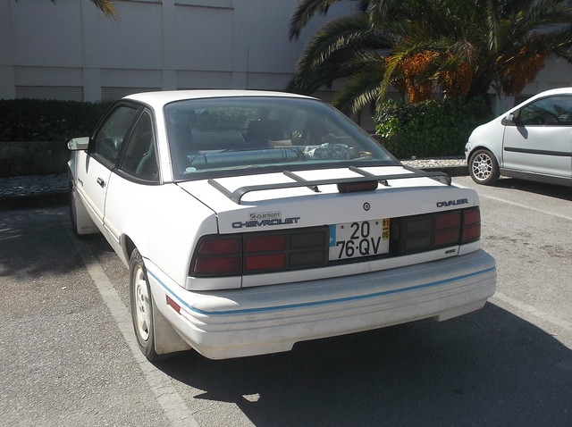 chevrolet cavalier 1991 rs