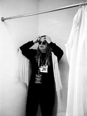 Lance Ozanix of Skitzo as Ozzy- San Francisco 2003 (Bart D. Frescura) Tags: sanfrancisco portrait blackandwhite film 35mm 35mmfilm bayarea bdf ozzy califorina skitzo sweetleaf bartdfrescura lanceozanix
