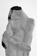 4 - Paris Musée Zadkine Ossip Zadkine Maternité Détail (melina1965) Tags: nikon d80 avril april 2à muséezadkine ossipzadkine îledefrance paris 75006 6èmearrondissement statue statues sculptures sculpture noiretblanc blackandwhite geste gestes gesture gestures 2014
