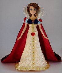 My Wedding Rapunzel LE 17'' Doll in LE Snow White's Outfit - Standing - Full Front View (drj1828) Tags: wedding doll snowwhite rapunzel purchase limitededition outfits disneystore 17inch swapping snowwhiteandthesevendwarfs tangledeverafter