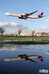 G-VEIL - Airbus A340-642 - Virgin Atlantic Airways (KarlADrage) Tags: heathrow airbus lhr virginatlantic a340600 a346 egll gveil queenoftheskies runway27l