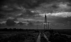 Alta Tension (manuel.lo) Tags: bw blanco landscape y nevada negro paisaje sierra granada alta electricidad tension altiplano