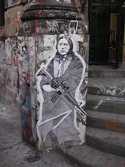 New York - Mural art (bartlinssen1968) Tags: newyork manhattan murals indiaan thebigapple indianen muurtekening