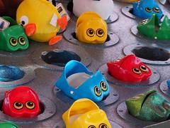 Pick Me Pick Me! . (ikan1711) Tags: fun toys outdoor parks prize win ambleside kidstoys fungames summergames outdoorgames funtoys localpark westvancouverbc toysforkids fairgroundgames fairgroundtoys gamestowin