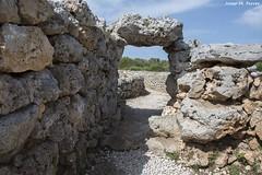 ANTIGA PORTA A ES TREUC (Menorca, agost de 2015) (perfectdayjosep) Tags: menorca balears illesbalears minorica perfectdayjosep runestalaitiquesdestrepuc