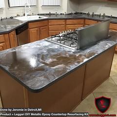 Metallic Countertop Paint : ... Tags: diy metallic epoxy kits countertop counters coating resurfacing