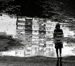 (Oroku1) Tags: shadow reflection blackwhite sad floor serbia lonely cry flour gravel vojvodina novi srbija liman ortodox