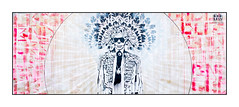 Graffiti (Endless), East London, England. (Joseph O'Malley64) Tags: uk greatbritain england streetart london graffiti stencil mural paint britain spray british panels cans aerosol eastend endless eastlondon woodenpanels muralists stencilwork