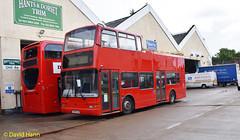 Eastleigh   X589EGK (davidhann34016) Tags: london volvo president goahead plaxton b7tl pvl189 x589egk coachservicesofthetford
