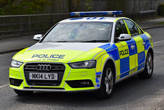 NK14LYD (Cobalt271) Tags: proud 30 tdi police northumbria vehicle to motor a4 audi protect quattro livery patrols nk14lyd
