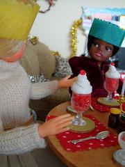 Sindy's Christmas Day - 20 (misssindy) Tags: christmas doll dolls marx 16 gayle diorama pedigree sindy