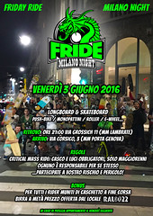 FRIDE Milano - Friday 3 June 2016 (Airone THP TNB) Tags: skateboarding milano longboarding longboardskate longdistancepumping longdistanceskateboarding longdistancepushing longboardmilano milanoskateboarding