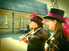 The Morecambe Steampunk Festival (Christopher Arundel) Tags: uk england festival out coast seaside day lancashire lancaster morecambe splendid steampunk 2016