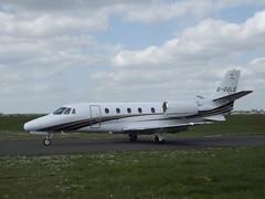 G-OXLS Cessna Citation 560XLS Go XLS Ltd (Aircaft @ Gloucestershire Airport By James) Tags: james airport go oxford ltd cessna lloyds citation bizjet xls 560xls goxls egtk