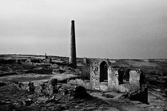 Arsenic works - Cornwall (Graeme Pollock1) Tags: chimney tin coast ruins mine cornwall twin arsenic crowns arsenci