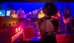 live music (Rob-Shanghai) Tags: leica red girl club fun lights pub colours dress shanghai live watching band spot leicaq spotbar