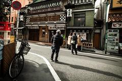 Attentes (www.danbouteiller.com) Tags: attentes japan japon japanese japonais people men man tokyo shinjuku city ville urban photoderue photo de rue street streetscene streetlife streets streetshot bike velo asian asia asiatique canon canon5d eos 5dmk2 5d 5d2 5dm2 samyang samyang14mm 14mm 14