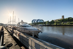 Geordie Riviera. (Brbelly) Tags: summer sun sunrise river newcastle boats sage tyne yachts upon