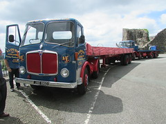 AEC Mandator JAE816D (Andrew 2.8i) Tags: aec mantador truck lorry vintage classic lloyds ludlow shropshire coracle run bracelet bay swansea carmarthen car classics
