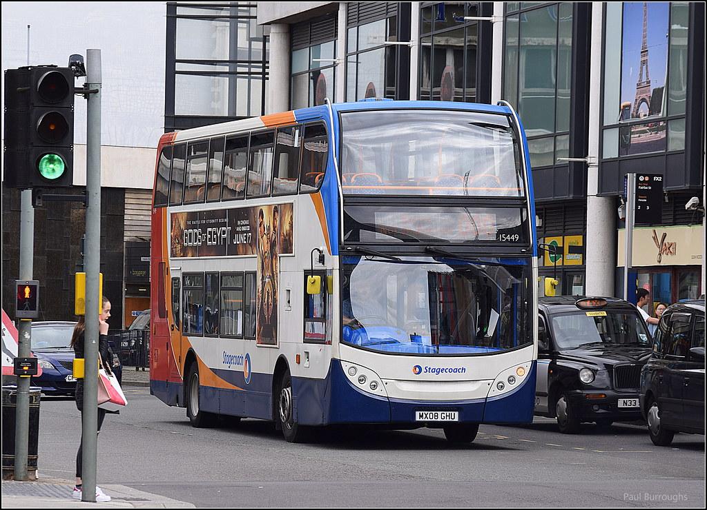 Stagecoach Midlands Scania N230UD/Alexander Dennis Enviro 400, 15449  (paulburr73) Tags: