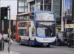 Stagecoach Midlands Scania N230UD/Alexander Dennis Enviro 400, 15449 (paulburr73) Tags: urban bus buses june northampton transport transit coventry mrs citycentre westmidlands warwickshire stagecoach doubledecker stratforduponavon scania smr midlands adl 2016 evesham 15449 alexanderdennis x18 fairfaxstreet enviro400 midlandredsouth n230ud h4729f mx08ghu