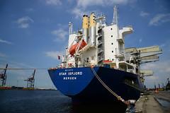 Star Isfjord (DST_1804) (larry_antwerp) Tags: euroports starisfjord griegstar bulk forestproducts 9182978 antwerp antwerpen       port        belgium belgi          schip ship vessel