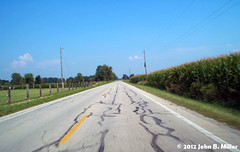 Route 50 - Road 3 (jmillerdp) Tags: road trip travel color digital highway kodak roadtrip route 50 backroad us50 route50 dc280