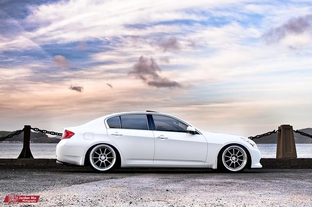 white sedan photography nikon shot wheels automotive turbo vip ssr coupe g35 sp2 jdm infiniti supercharged sp3 g25 sp1 d90 g37 d700 hellaflush