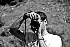 I met a photographer (on the mountain) (Daniele Salutari) Tags: wow photography photo amazing cool fantastic shoot foto photographer shot good great capture dannyboy
