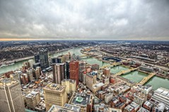 Downtown Pittsburgh from the roof of the Steel Building HDR (Dave DiCello) Tags: beautiful skyline photoshop nikon pittsburgh tripod usxtower christmastree northshore bluehour nikkor hdr highdynamicrange pncpark pittsburghpirates cs4 steelcity photomatix beautifulcities yinzer cityofbridges tonemapped theburgh pittsburgher colorefex cs5 ussteelbuilding beautifulskyline d700 thecityofbridges pittsburghphotography davedicello pittsburghcityofbridges steelscapes beautifulcitiesatnight hdrexposed picturesofpittsburgh cityofbridgesphotography