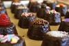 Brownie Bites (NJAshots) Tags: food dessert chocolate sprinkles brownie chocolatedipped browniebites