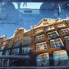 Ice skating in the heart of Amsterdam (Bn) Tags: auto winter people cold holland reflection ice window netherlands dutch car amsterdam geotagged frozen downtown iceskating rear skating joy kinderen nederland freezing first front canals age skate trunk prinsengracht temperature mokum occasion rare grachten pleasure skates blades winters stad harsh jordaan 2012 westertoren d66 ijs gluhwein schaatsen koud westerkerk amsterdamse ijspret hendrick chocolademelk grachtengordel kofferbak 7c hollandse oudhollands gekte winterse sferen avercamp ijzers ijsplezier jordanezen ijsnota geo:lon=4883267 geo:lat=52373507