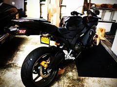 picplz_upload (kattwong) Tags: bike ninja 2006 motorcycle kawasaki exhaust zx6r yoshimura 636 picplz