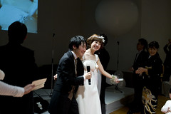 Kenichi & Kunie's Wedding Party (ha++) Tags: wedding party japan tokyo daikanyama kenichi kunie feb252012